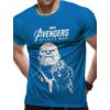 Kép 1/2 - MARVEL The Avengers - A Bosszúállók - Infinity War - Végtelen Háború Thanos póló XL