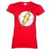 Kép 1/2 - The Flash Logo - A Villám női póló