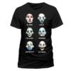 Kép 1/2 - DC Comics - Batman - Joker Clown faces póló