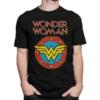 Kép 1/2 - Wonder Woman vintage logo classic póló