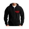 Kép 1/2 - Stranger Things logo zip hoodie - kapucnis cipzáras pulóver