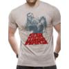 Kép 1/2 - Star Wars - Csillagok Háborúja - Retro Solo & Chewie duo póló