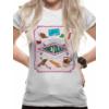 Kép 1/2 - HARRY POTTER Honeydukes cukorka boltos női póló XL