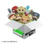Kép 2/2 - FUNKO POP Mystery GEEKBOX meglepetés csomag 3 db kisebb termék
