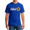 Kép 1/2 - Fallout 76 logo classic blue póló