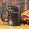 Kép 4/4 - HARRY POTTER exkluzív I Would Rather Be At Hogwarts Roxfort feliratú bögre 300 ml