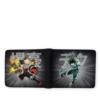 Kép 2/3 - My Hero Academia-Boku no Hero Academia Izuku & Bakugo -Vinyl pénztárca