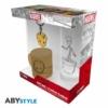 """Kép 1/5 - MARVEL Groot ajándékkészlet csomag üveg pohár 290ml + kulcstartó + Mini kerámia bögre 110 ml """"Groot"""""""