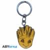 """Kép 2/5 - Marvel Groot ajándékkészlet üveg pohár 290ml + kulcstartó + Mini kerámia bögre 110 ml """"Groot"""""""