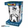 Kép 2/2 - DragonBall Super Goku/Vegeta díszítésű üvegpohár 400 ml