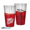 Kép 1/2 - IT Time to Float Pennywise díszítésű üvegpohár 400 ml