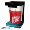 Kép 2/2 - IT Time to Float Pennywise díszítésű üvegpohár 400 ml