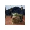 Kép 3/4 - Star Wars The Mandalorian interaktív beszélő plüss Baby Yoda The Child Grogu figura 20 cm