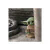 Kép 4/4 - Star Wars The Mandalorian interaktív beszélő plüss Baby Yoda The Child Grogu figura 20 cm