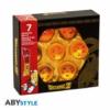 Kép 2/4 - DRAGON BALL gyűjtői Sárkánygömb replika díszdoboz Collector box 7db Sárkánygömböt tartalmaz
