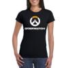 Kép 1/2 - Overwatch logo női póló S