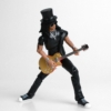 Kép 1/2 - GUNS & ROSES BST AXN mozgatható gyűjtői Rock akció figura Slash 13 cm