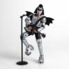 Kép 2/2 - KISS mozgatható gyűjtői Rock akció figura Gene Simmons The Demon 13 cm