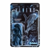 Kép 2/2 - ALIENS  ReAction Wave 1 Alien Warrior Nightfall Blue retro figura 10  cm