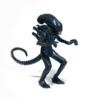 Kép 1/2 - Aliens ReAction Wave 1 Alien Warrior Nightfall Blue retro figura 10  cm