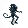 Kép 1/2 - ALIENS  ReAction Wave 1 Alien Warrior Nightfall Blue retro figura