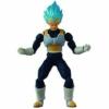 Kép 1/2 - DRAGON BALL  Evolve Super SaiyanGod Vegeta mozgatható figura 13 cm