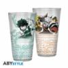 Kép 1/2 - MY HERO ACADEMIA prémium üvegpohár 400 ml