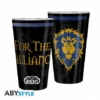 Kép 1/2 - WORLD OF WARCRAFT Alliance prémium üvegpohár 400 ml