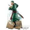 Kép 1/2 - ONE PIECE Zoro Log File Selection Fight figura 17 cm