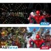 Kép 3/4 - MARVEL Spider-man Pókember multiverse hőre változó bögre 460 ml
