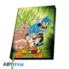 Kép 1/6 - DRAGON BALL Broly VS Goku & Vegeta A5 méretű notesz jegyzetfüzet