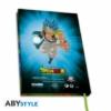 Kép 3/6 - DRAGON BALL Broly VS Goku & Vegeta A5 méretű notesz jegyzetfüzet