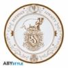 Kép 3/6 - HARRY POTTER Hogwarts Houses 4 darabos kerámia tányér készlet