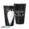 Kép 1/4 - NIGHTMARE BEFORE XMAS Jack Skellington premium üvegpohár 400 ml