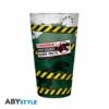 Kép 3/4 - JURASSIC PARK Danger High Voltage premium üvegpohár 400 ml