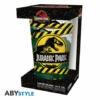 Kép 4/4 - JURASSIC PARK Danger High Voltage premium üvegpohár 400 ml