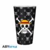 Kép 2/4 - ONE PIECE Luffy premium üvegpohár 400 ml