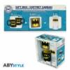 Kép 1/4 - DC COMICS BATMAN csésze + pohár + poháralátét ajándék csomag