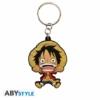Kép 1/3 - ONE PIECE Monkey D Luffy PVC kulcstartó