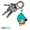 Kép 2/4 - DRAGON BALL SUPER Saiyan Blue Goku PVC kulcstartó