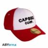 Kép 1/3 - DRAGON BALL Red & White Capsule Corp logo állítható baseball sapka