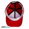 Kép 3/3 - DRAGON BALL Red & White Capsule Corp logo állítható baseball sapka