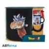 Kép 4/4 - DRAGON BALL SUPER Goku vs Jiren hőre változó bögre