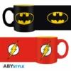 Kép 1/3 - DC COMICS Batman és Flash mini espresso kávés bögre szett