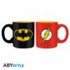 Kép 2/3 - DC COMICS Batman és Flash mini espresso kávés bögre szett