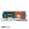 Kép 3/3 - DC COMICS Batman és Flash mini espresso kávés bögre szett
