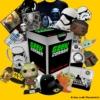 Kép 2/2 - STAR WARS - Csillagok Háborúja Mystery Geekbox meglepetés csomag S
