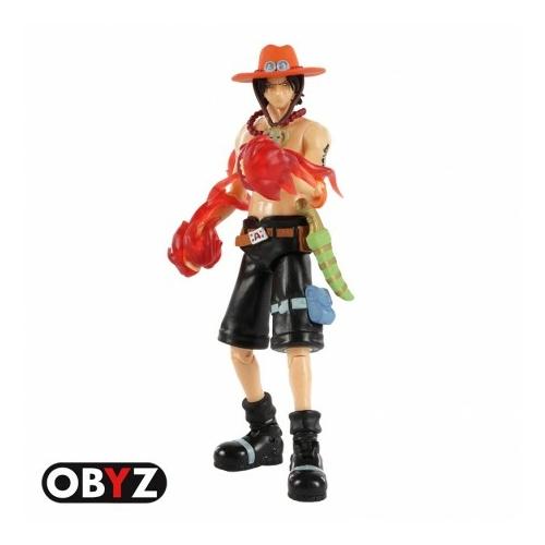 ONE PIECE Ace mozgatható figura