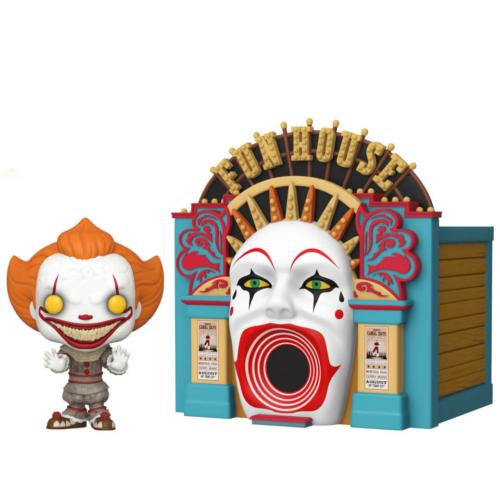 IT Chapter Two  AZ 2 Demonic Pennywise & Funhouse diorama FUNKO POP Figura