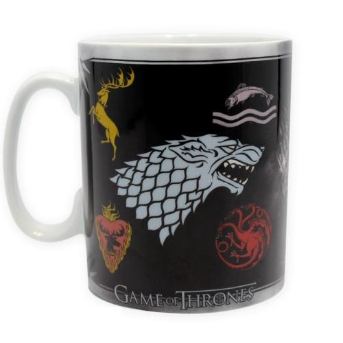 Game of Thrones Sigils Házak Trónok harca bögre 460 ml